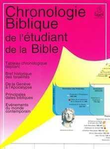 Chronologie biblique de l'etudiant de la bible