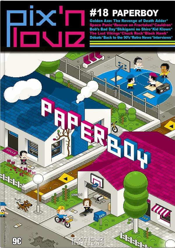 PIX'N LOVE n.18 ; paperboy
