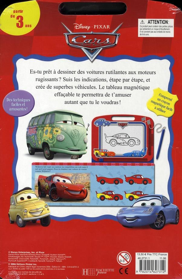 Cars ; livre-ardoise