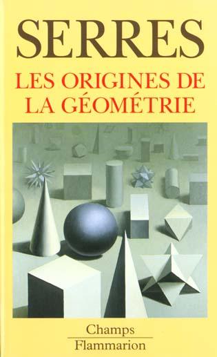 Origines de la geometrie (les)