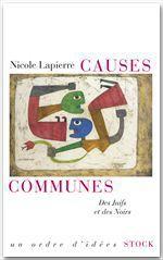 Vente EBooks : Causes communes  - Nicole Lapierre
