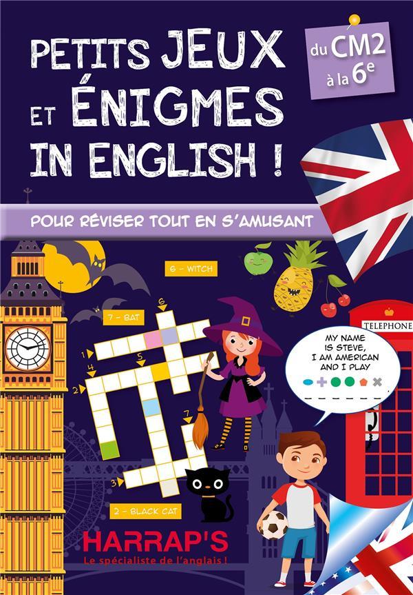 Petits jeux et énigmes in english ! spécial CM-6e