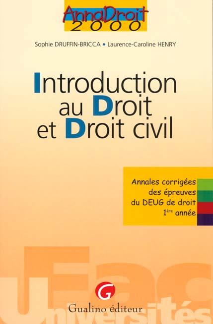 introduction au dt et dt civil