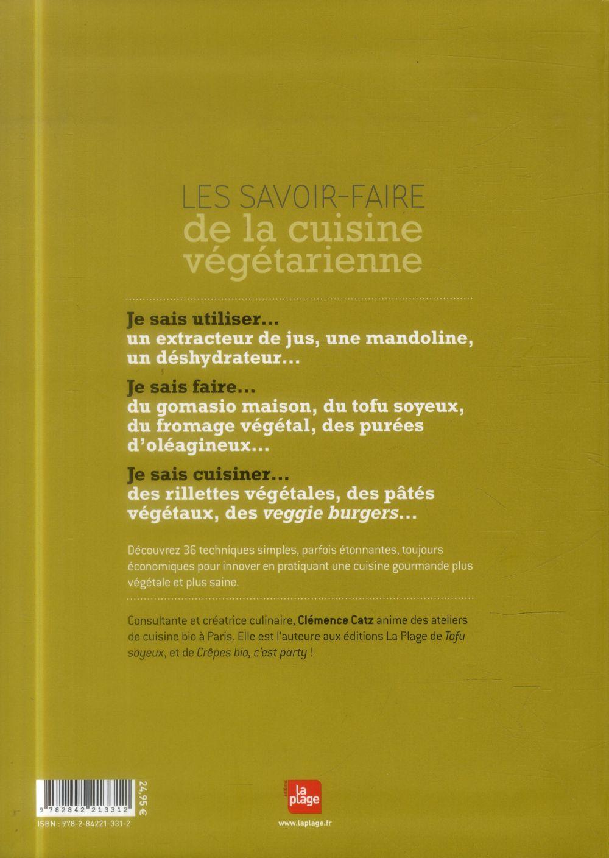 Les savoir-faire de la cuisine végétarienne
