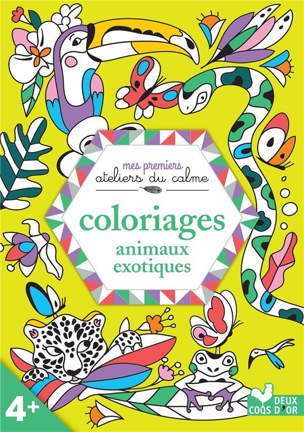 Coloriages animaux exotiques