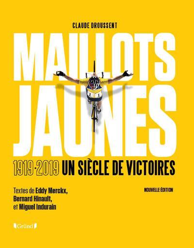 Les maillots jaunes du tour de France
