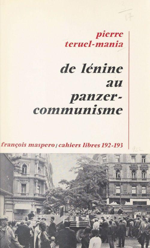 De Lénine au panzer-communisme