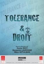 Vente EBooks : Tolérance & Droit  - Xavier Bioy - Benjamin Lavergne - Marc Sztulman