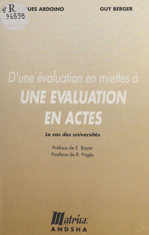 Evaluation en miette