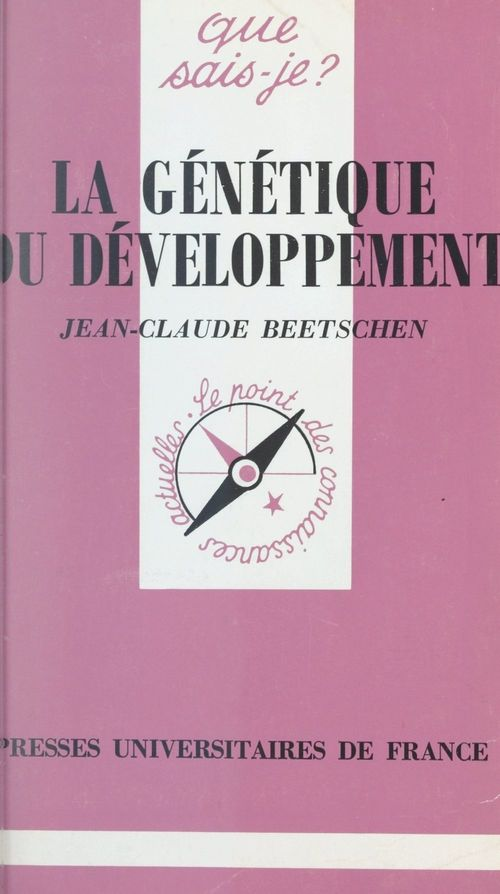 La génétique du développement