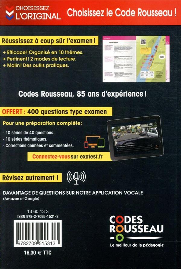 Code Rousseau ; le code de la route (édition 2021)