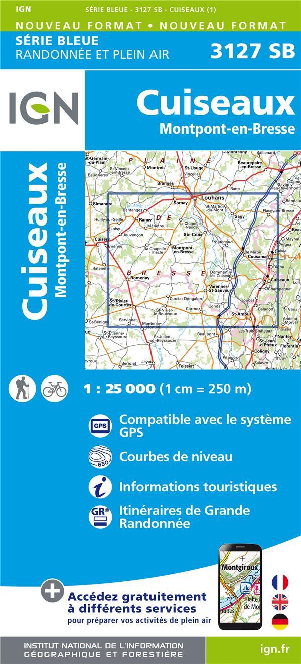 3127SB ; Cuiseaux, Montpont-en-Bresse