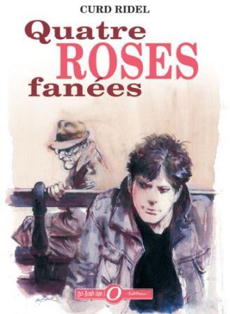quatre roses fanées