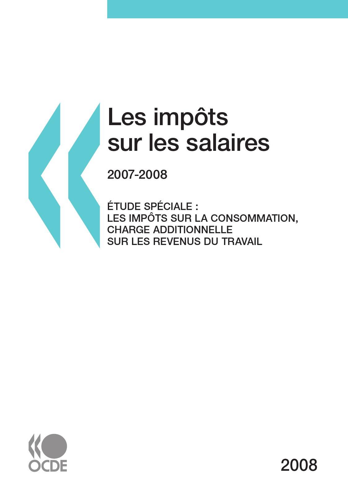 Les impôts sur les salaires 2007-2008