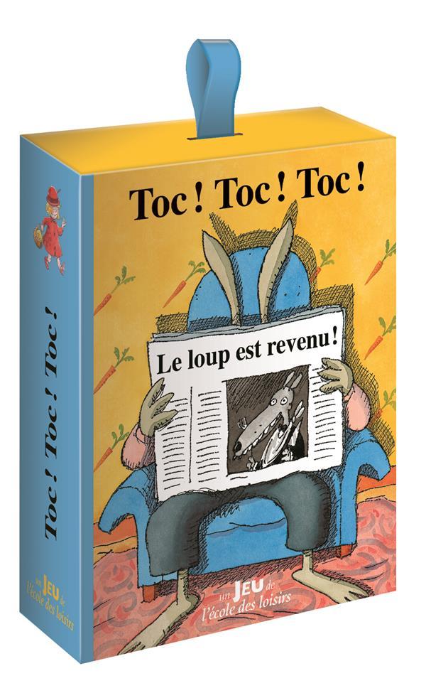 TOC ! TOC ! TOC ! LE JEU Pennart Geoffroy de