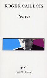 Vente Livre Numérique : Pierres suivi d'autres textes  - Roger Caillois