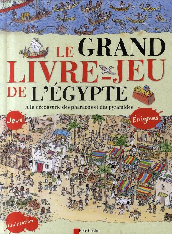 Le Grand Livre-Jeu De L'Egypte