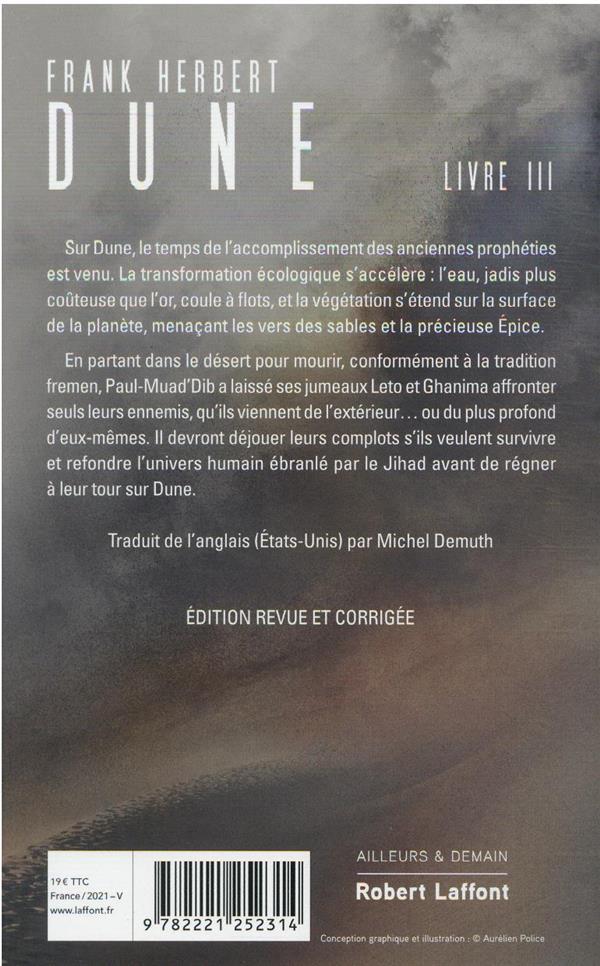 Le cycle de Dune T.3 ; les enfants de Dune
