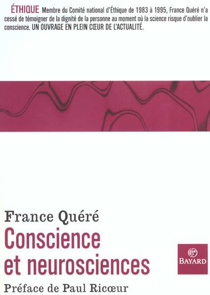 Conscience et neurosciences