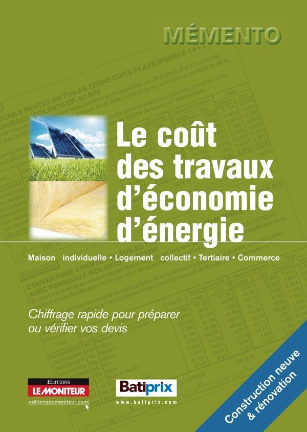 Le Cout Des Travaux D'Economie D'Energie