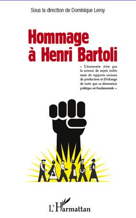 Vente Livre Numérique : Hommage à Henri Bartoli  - Dominique Leroy