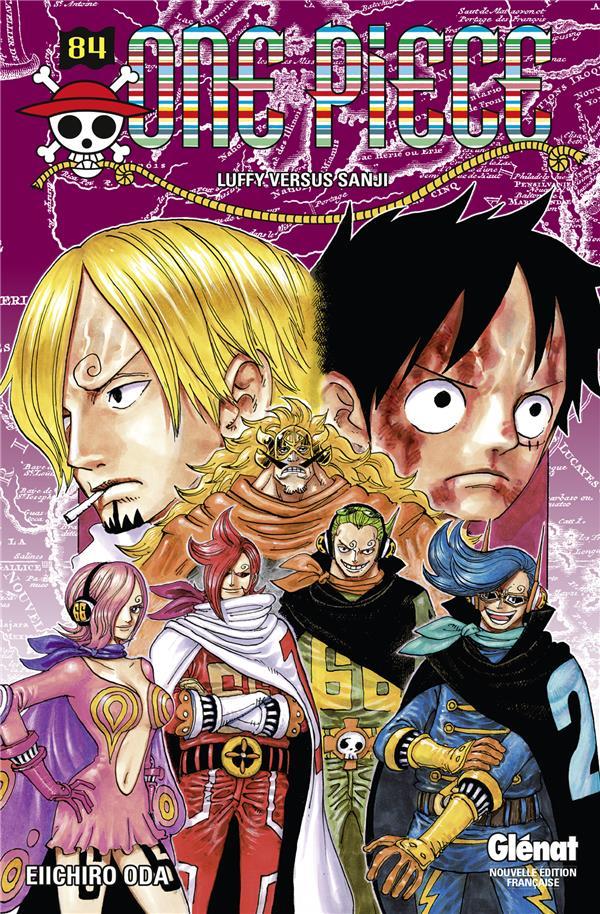 One Piece T.84 ; Luffy versus Sanji