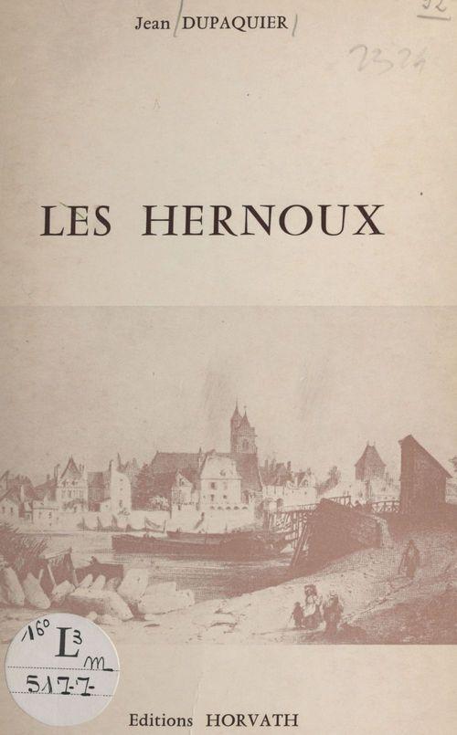 Les Hernoux : une famille d'édiles et de parlementaires  - Jean Dupaquier