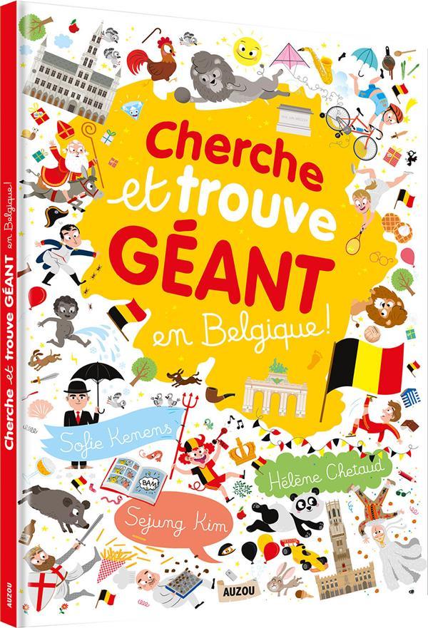 Cherche et trouve géant ; en Belgique
