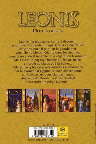Leonis T.10 ; l'île des oubliés