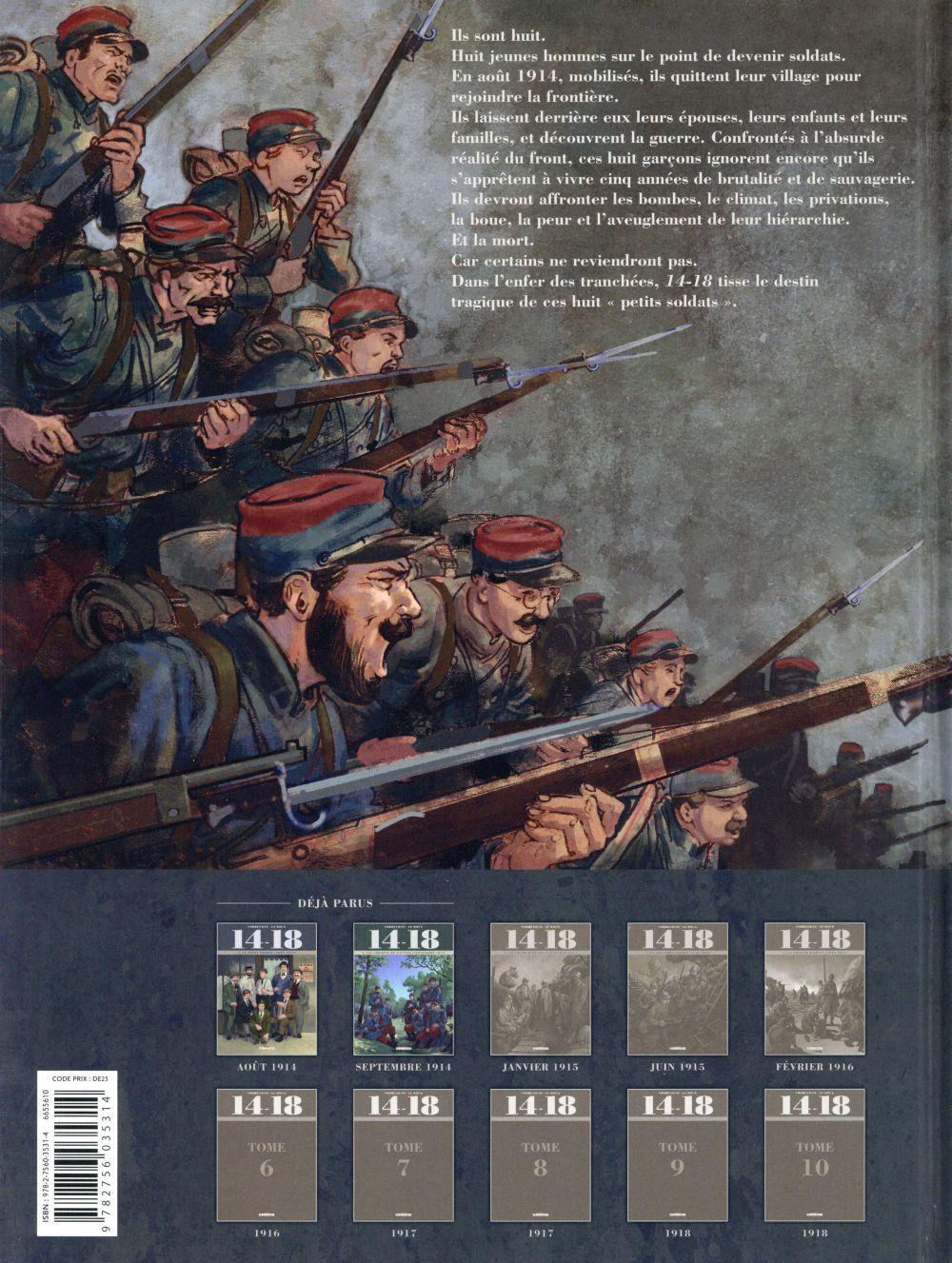 14-18 T.2 ; les chemins de l'enfer (septembre 1914)