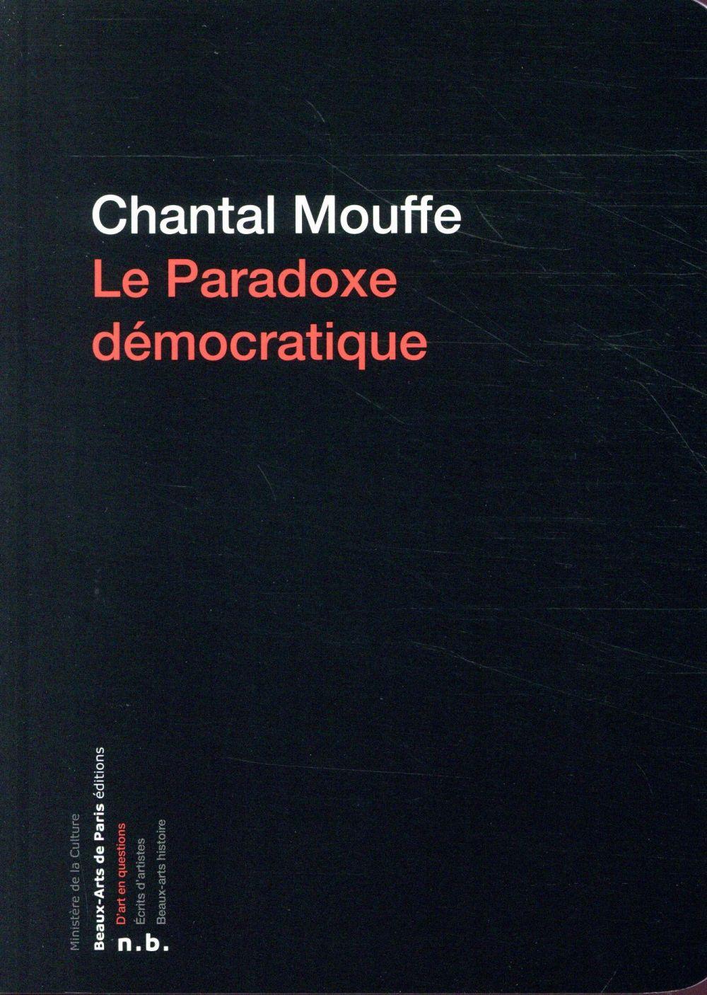 le paradoxe démocratique