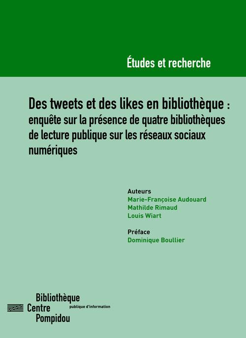Des tweets et des likes en bibliotheque. enquete sur la presence de q