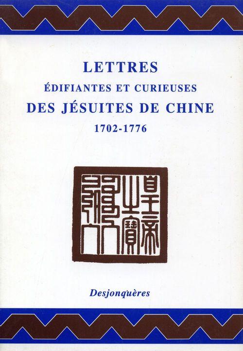 Lettres édifiantes et curieuses des Jésuites de Chine