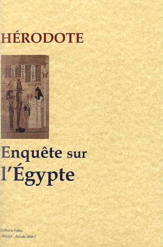 Enquête sur l'Egypte