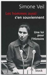 Vente EBooks : Les hommes aussi s'en souviennent  - Simone Veil