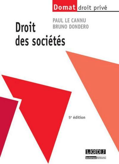 Droit des sociétés (5e édition)