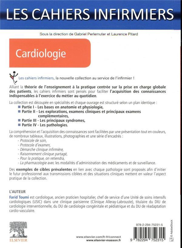 Les cahiers infirmiers ; cardiologie