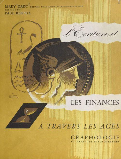 L'écriture et les finances à travers les âges