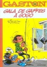 Couverture de Gaston lagaffe t.1 ; gala de gaffes à gogo