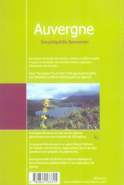 ENCYCLOPEDIES REGIONALES ; Auvergne