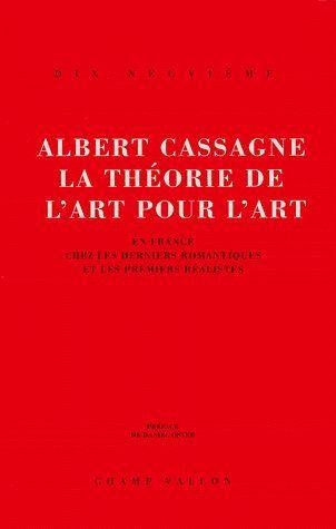 La theorie de l'art pour l'art