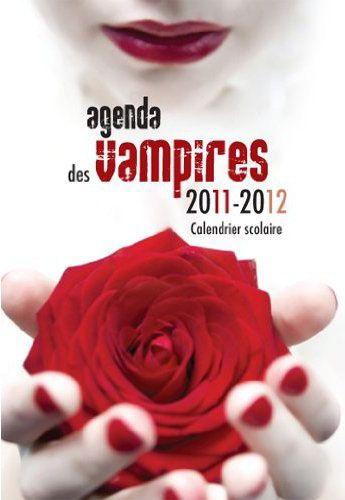 agenda scolaire des vampires 2011/2012