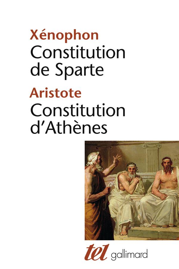 CONSTITUTION DE SPARTE - CONSTITUTION D'ATHENES