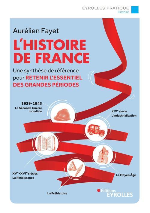 L'histoire de France ; une synthèse de référence pour retenir l'essentiel des grandes périodes