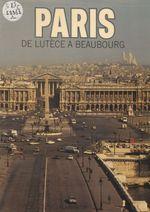 Vente Livre Numérique : Paris  - Michel Fleury - Jean-Pierre BABELON - Alain Erlande-Brandenburg