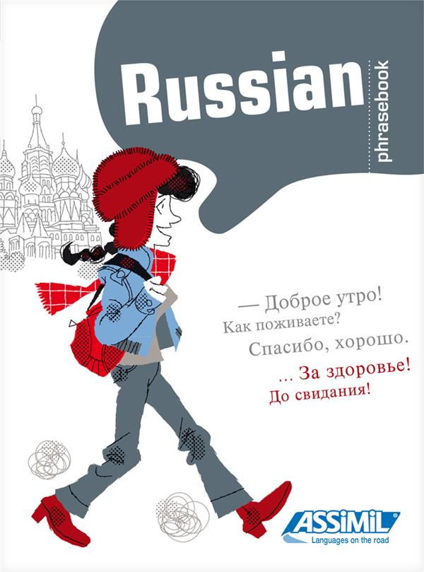 Guides De Conversation ; Russian Phrasebook