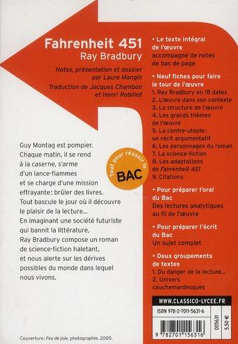 fahrenheit 451, de Ray Bradbury