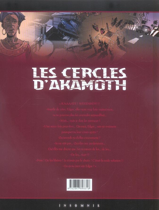 Les cercles d'Akamoth t.3 ; l'enfant vaudou