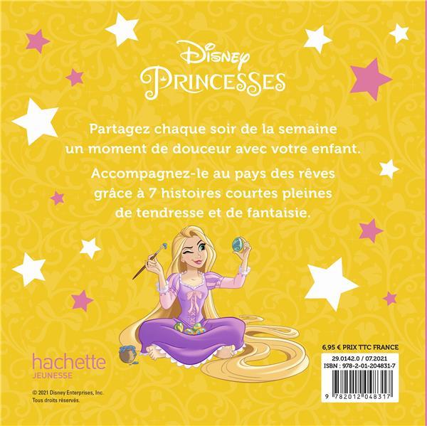 7 histoires pour la semaine ; Disney Princesses