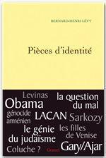 Vente Livre Numérique : Pièces d'identité  - Bernard-Henri Lévy